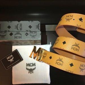 Other - MCM Belt Tan Color